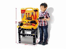 Игровой набор с инструментами и верстаком, с звуковыми эффектами на батарейках HC268529