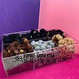 Набор резинок для волос 5 цветов. 60 Резинок, фото 8