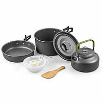 Набор посуды походный Cooking Set Campsor DS-308