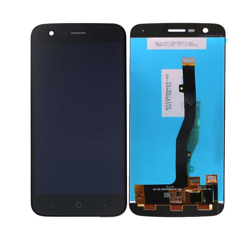 Дисплей для Zte V8 Lite с сенсорным стеклом (Черный) Оригинал Китай