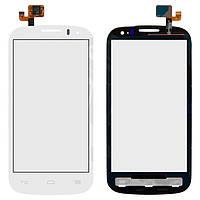 Сенсорный экран для мобильного телефона Alcatel One Touch 5036 POP C5 Dual SIM, белый