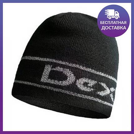 Шапка водонепроницаемая Dexshell Beanie Reflective Logo, DH373BLKLXL, фото 2