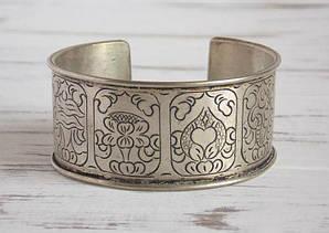 """Непальский этнический браслет-оберег на руку """"8 тибетскийх символов"""""""
