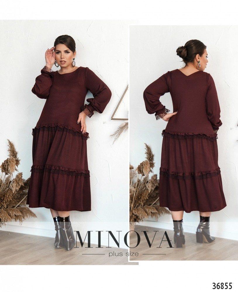 Повседневное женское платье,  Размеры: 48-50,52-54,56-58