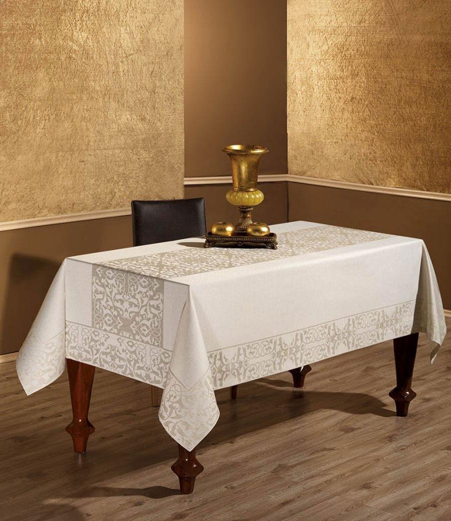 Скатерть Tabe Linen Collection льняная 150x220