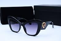 Солнцезащитные очки  Dolce & Gabbana 4349 черные, фото 1