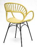 Стілець Flori, жовтий, фото 5