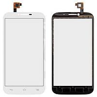 Сенсорный экран для мобильного телефона Alcatel One Touch 7047 POP C9 Bluish, белый