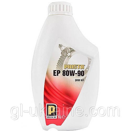 Трансмиссионное масло Prista EP 80W-90 1 л