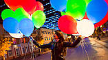 Набор 5 штук светящиеся надувные шары со светодиодом 1454, фото 2