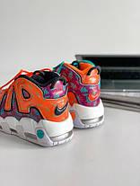 Женские кроссовки Nike Air More Uptempo What The 90s AT3408-800, Найк Аир Мор Аптемпо, фото 3