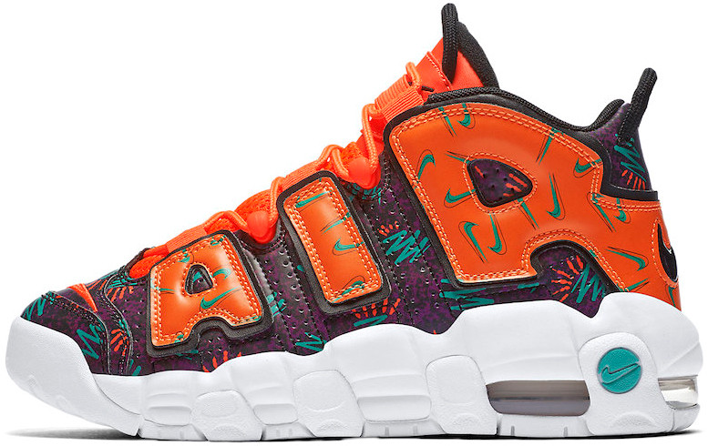 Женские кроссовки Nike Air More Uptempo What The 90s AT3408-800, Найк Аир Мор Аптемпо