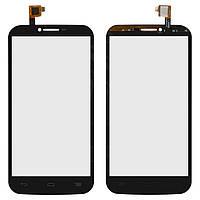 Сенсорный экран для мобильного телефона Alcatel One Touch 7047 POP C9 Bluish, черный