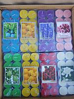 Свечи чайные (таблетка) ароматизированные 10шт.