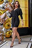 1266/7 Стильное женское платье с люрексом, фото 4