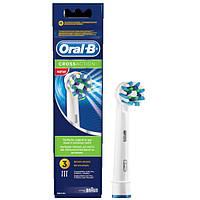 Насадки Oral-B Cross Action EB50 (3 шт) для електричної зубної щітки
