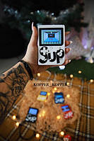 Портативная игровая консоль Ретро Sup Game box 400 in 1 Топ-игра Белый