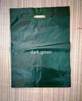 """Пакет полиэтиленовый """"банан"""" 40*54 (40х54) зеленый"""