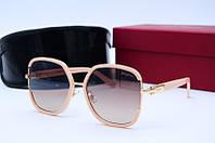 Солнцезащитные очки F 6564 беж, фото 1