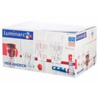 Стакан luminarc Новая Америка набор 6x270 мл низкий (j28901)