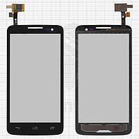 Сенсорный экран для мобильного телефона Alcatel One Touch 5035 X'Pop, черный