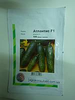 Насіння огірка Атлантіс F1 100 сем (Бейо / Bejo / АГРОПАК +) - бджолозапилюваний, ранній гібрид (42-45 днів)