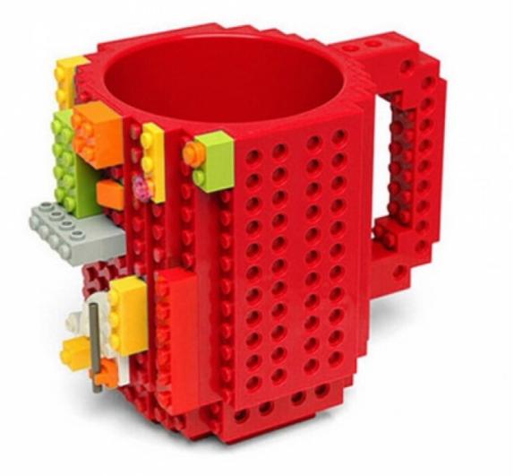 Кружка Lego брендовая 350мл 9 цвентов