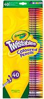 40 выкручивающихся карандашей Twistables, Crayola (68-7411)