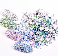 """Камни """"Опалы"""" микс цветов и размеров, 720шт"""
