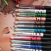 Двосторонній олівець-тіні для очей MI colour double