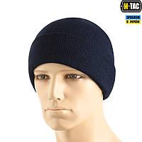 Шапка M-Tac Тонкая Вязка 100% Акрил Dark Navy Blue, фото 1