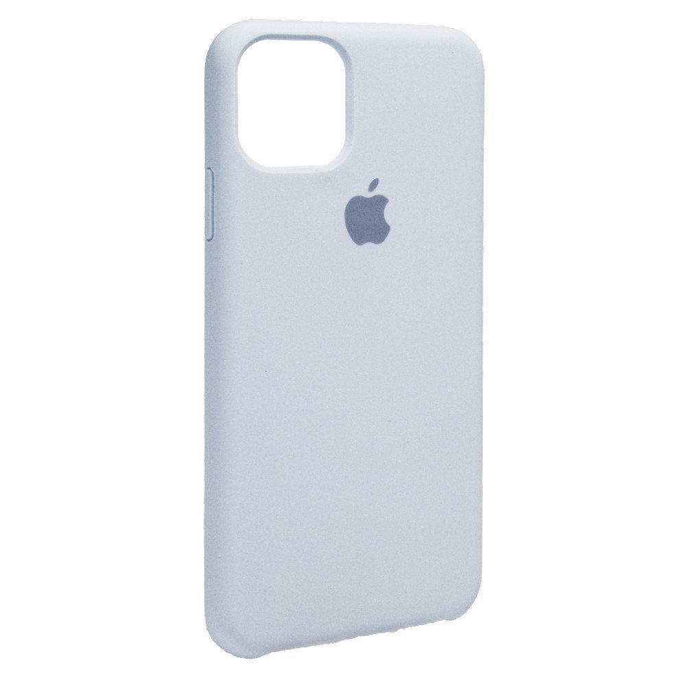 Силиконовый Чехол Накладка  Original Silicone Case High Copy — iPhone 11 Pro Max — Lavander (45)