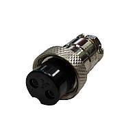 Разъём под два штыря YL 1-16 J/K2B, кабельная розетка