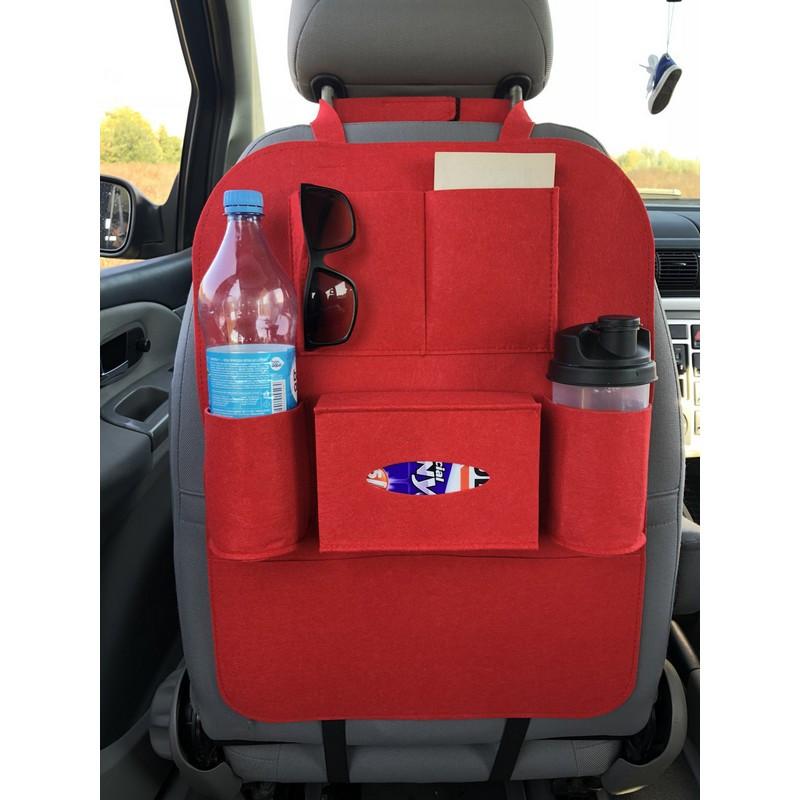 Автомобильный сумка-органайзер на спинку сиденья автомобиля