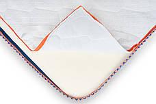Міні-матрац скручений Sleep&Fly mini ЕММ Memo 2 в 1 Kokos (Примітка 2 в 1 Кокос) стрейч, фото 3