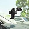 Автодержатель Hoco CA31 Suction Cup Car Holder универсальный с креплением на торпеду (Черный) ORIGINAL, фото 4