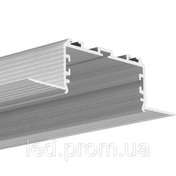 LED-профиль KLUS KOZEL-50 под штукатурку (C0757NA)
