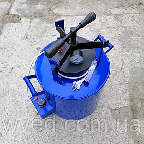Автоклав бытовой винтовой ЭЛЕКТРИЧЕСКИЙ мини ЧЕЕ-14 синий