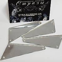 Дзеркальні пришивні стрази P19 18*50 Silver