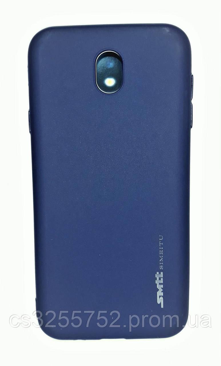 Силикон Smitt Samsung J730 dark blue