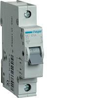 Автоматический выключатель HAGER 1А, 1п, С, 6 kA, 1м, MC101A