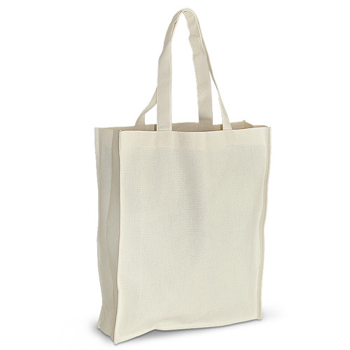 Эко-сумка из хлопка (35х10х42 см.), 210 г/м2, шоппер, сумка для покупок