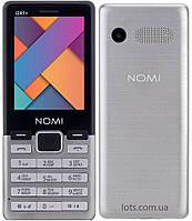 Мобильный телефон Nomi i241 Grey