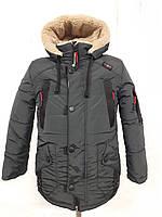 Зимняя куртка на мальчика на овчине! Р. 26-36. ОПТ, дропшиппинг, розница!