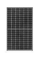 Фотомодуль REC SOLAR TWIN PEAK 2 mono, REC315TP2 (black frame), Mono, 315ват