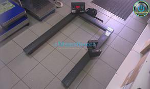 Паллетные весы Зевс ВПЕ4 А12Л (Н1208) на 2000 кг для евро поддонов