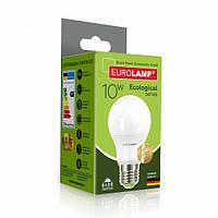 "LED Лампа Eurolamp ECO серия ""P"" A60 10W E27 4000K, фото 1"