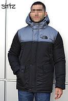 Мужская зимняя парка The North Face (Black), зимняя мужская черная парка