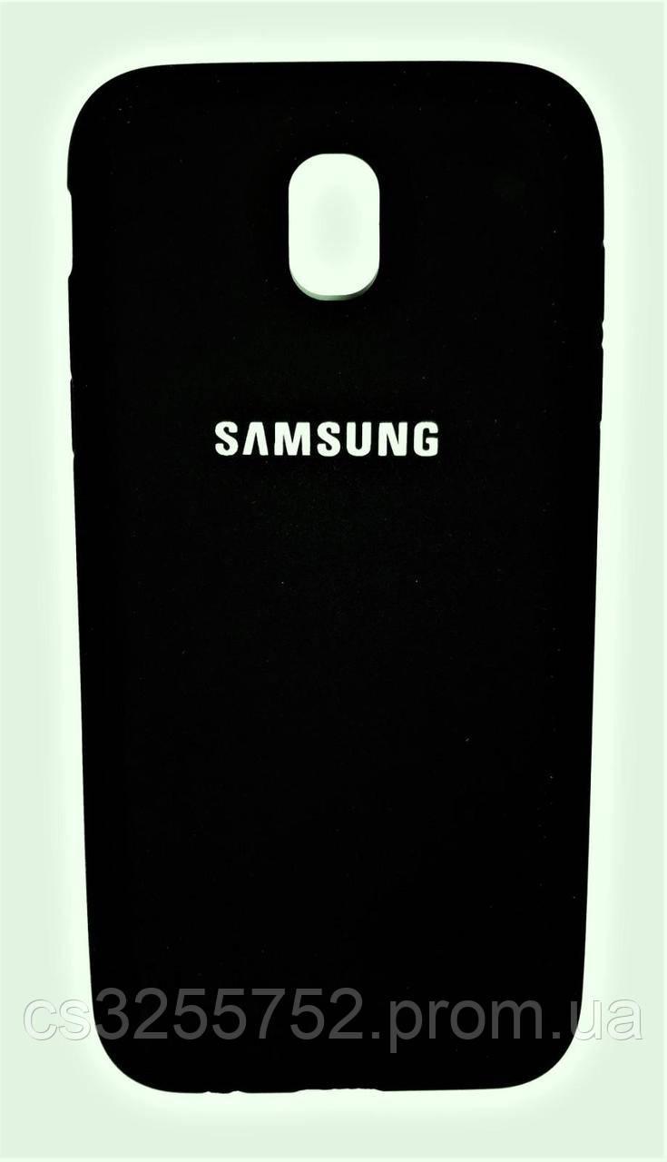 Чехол-накладка Brand Soft Touch for Samsung J530 Black