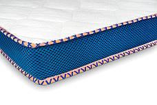 Міні-матрац скручений Sleep&Fly mini ЕММ Flex 2 в 1 Kokos (Флекс 2 в 1 кокос) стрейч, фото 2